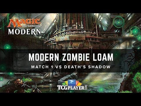 [MTG] Modern Zombie Loam | Match 1 VS Death