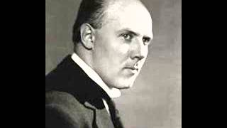 Walter Gieseking plays Brahms Intermezzo in A major Op. 118 No. 2