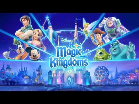 Disney Magic Kingdoms - Gameplay (ios, ipad) (RUS)