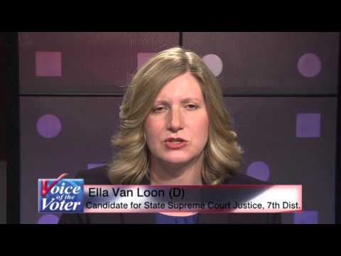 Ella Van Loon (D) Candidate for NYS State Supreme Court Justice