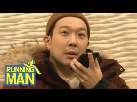 Haha Hearing the Result thru the phone [Running Man Ep 389]