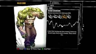 Batman: Arkham Asylum - Patient Interview Tapes - Killer Croc