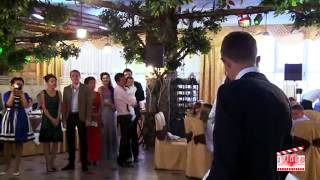 Замечательная песня на свадьбе!Подарок невесты своей второй половинке!