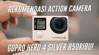Gopro Hero 4 Silver 850 RIBU! Bahas Action Camera Terbaik untuk Motovlog