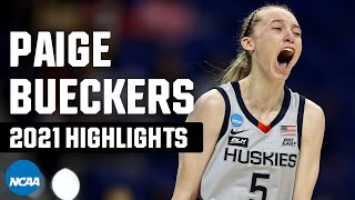 Paige Bueckers 2021 NCAA tournament highlights