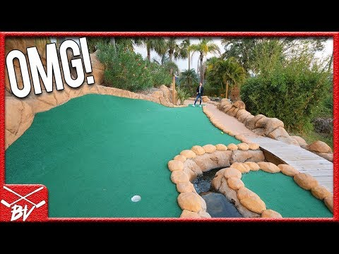 I CAN NOT BELIEVE THIS HAPPENED DURING OUR MINI GOLF GAME!