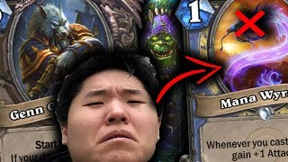 I Hate Playing Against TEMPO MAGE! | GENN GREYMANE | THE WITCHWOOD | HEARTHSTONE | DISGUISED TOAST