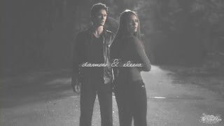 ► damon + elena | watch me fall apart