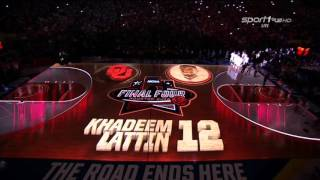 Intro Oklahoma Sooners - March Madness 2016 - Final Four
