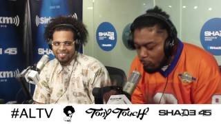 Chris Rivers Freestyle On DJ Tony Touch Shade 45 Ep. 07/25/17