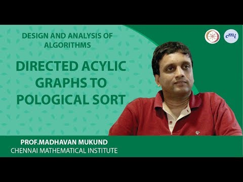 Directed acylic graphs: topological sort