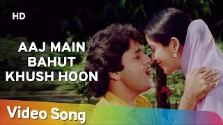 Aaj Main Bahut Khush Hoon HD Sasural 1984 Arun Govil Sadhana Singh Bollywood Song