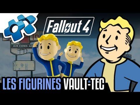 FALLOUT 4 : TOUTES LES FIGURINES VAULT-TEC