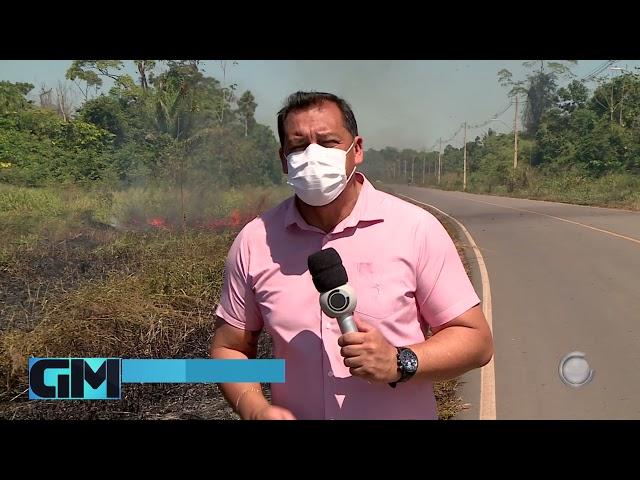 Queimadas: mais de 300 pessoas já foram notificadas em Rio Branco