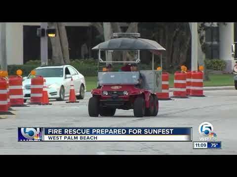 West Palm Beach Fire Rescue is prepared for SunFest