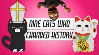Nine Cats Who Changed History | Future Puppet News #2
