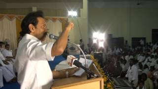 """I'm proud of my achievements as deputy chief minster."" - DMK Treasurer MK Stalin"
