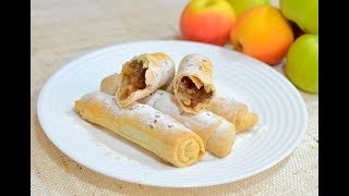 Пирожки с яблоками в духовке пошаговый рецепт