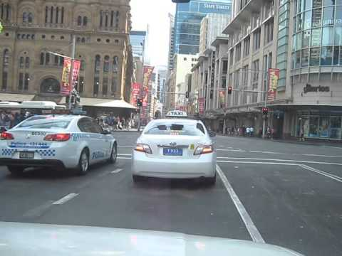 Sydney cbd driving ( Early Sunday morning )