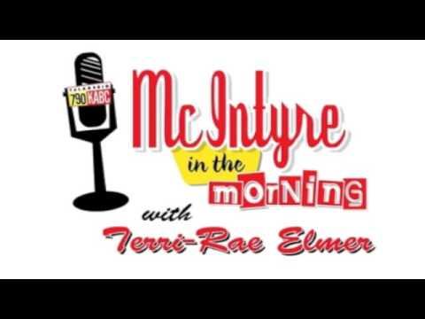 """McIntyre in the Morning"" with Terri-Rae Elmer"