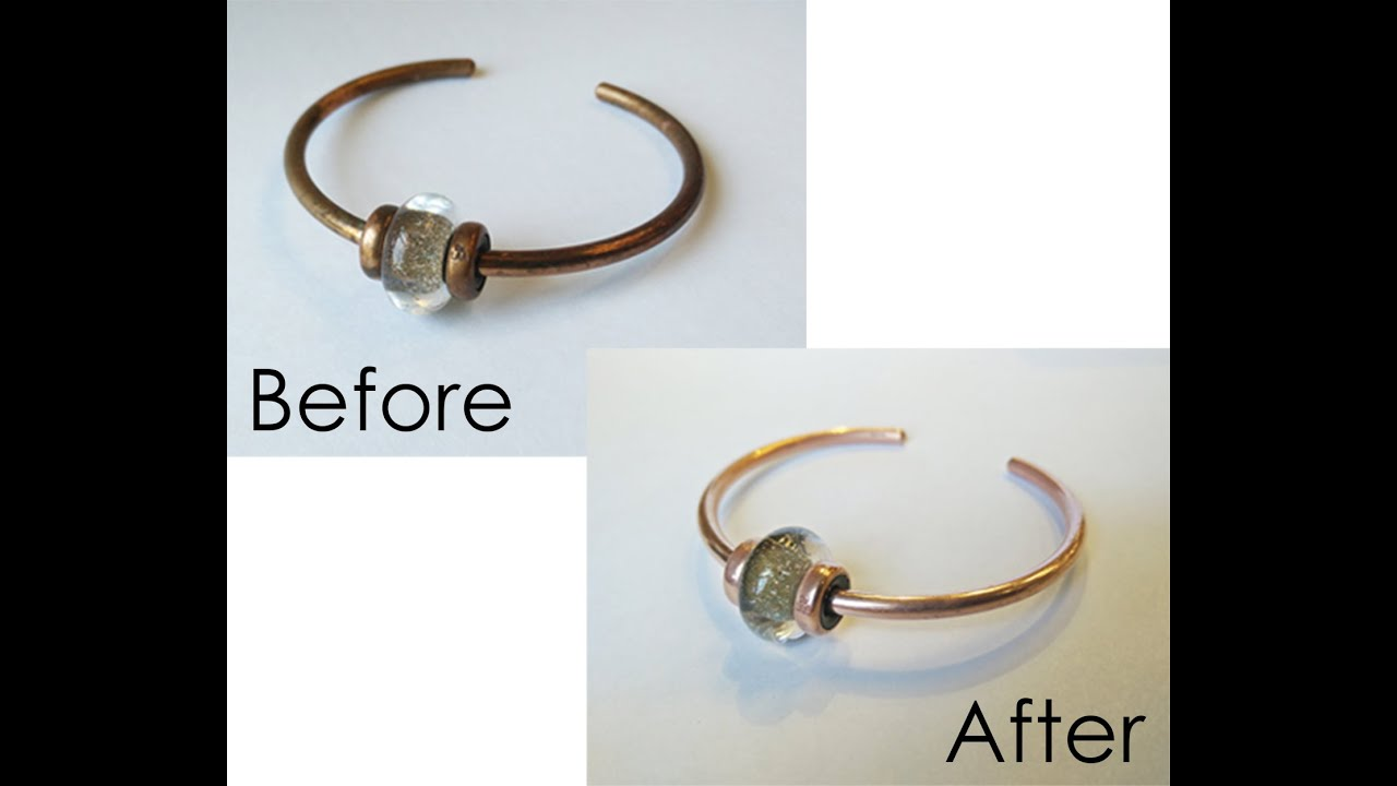 how to clean copper bracelet