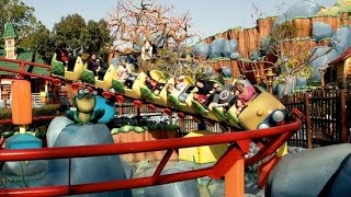 HD Gadgets Go Coaster WIDE ANGLE POV ON-RIDE Disneyland Park