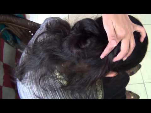 How To Bind Hair Style Simple Gulab Juda Youtube