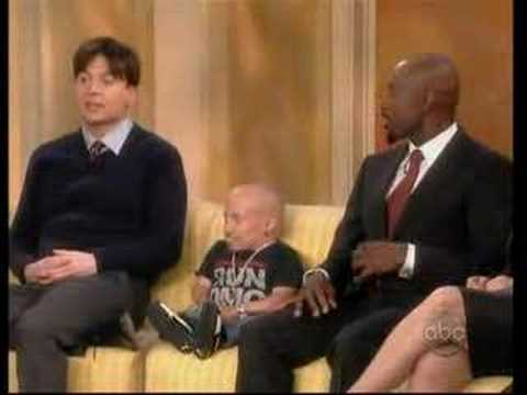 The View - Mike Myers & Verne Troyer (6-20-08)  pt. 2