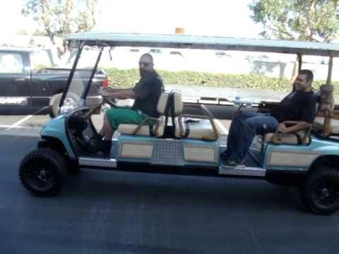 Yamaha Golf Cart  Passenger