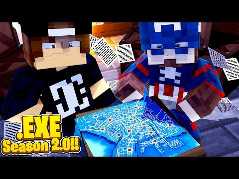 Minecraft .EXE 2.0 - CAPTAIN AMERICA & JACK SEARCH THE CITY FOR THE .EXE CURE!!