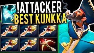 54 Kills 5 Divine Rapier 2k GPM What a Game Attacker The Best Kunkka In The World Insane Game Dota 2