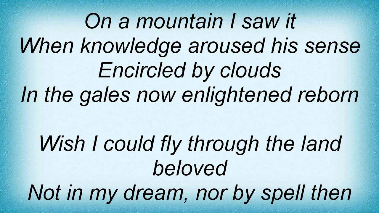 Lost Horizon Highlander The e Lyrics