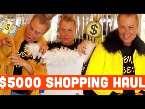 $5000 SHOPPING SPREE!!