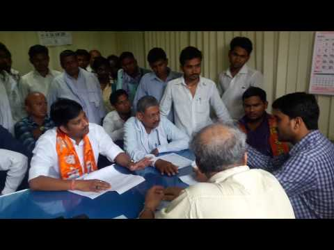 Yuva sena nagpur,Try to justice to labours in nagpur labour commissioner office nagpur