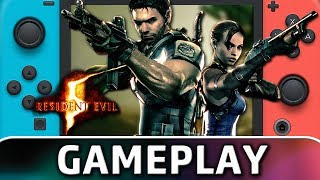 Resident Evil 5 | First 20 Minutes on Switch