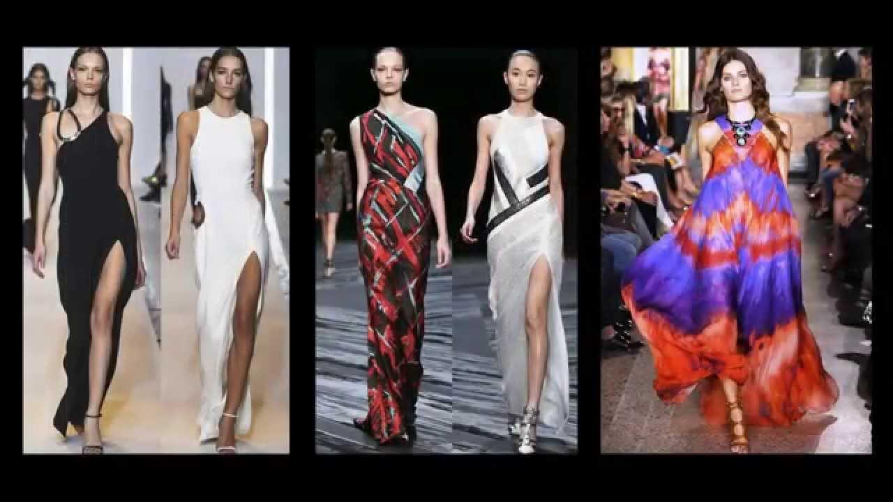 4908e293a2 Piękne długie sukienki 2015 - YouTube