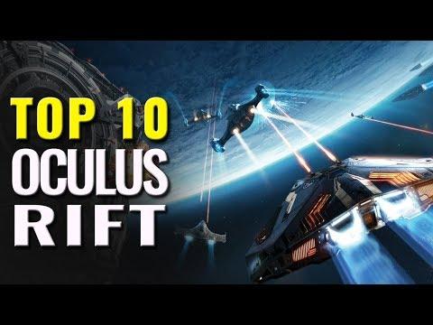 Top 10 Best Oculus Rift Games   PC VR games