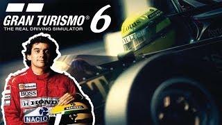 Gran Turismo 6 - DLC Tributo Ayrton Senna + Mensagem Final da  Lenda