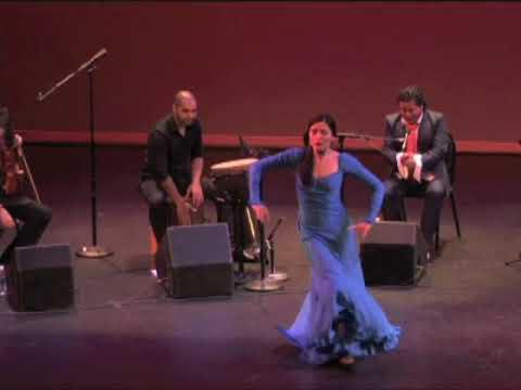 Eric & Encarnación with Rafael de Utrera - Siguiriya 1 of 2 Live Flamenco