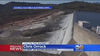 More Than 130K Ordered To Evacuate Due To Likely Collapse Of Oroville Dam Spillway