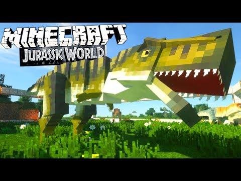 Minecraft Jurassic World #32 - Der TYRANNOSAURUS REX schlüpft & der MAJUNGA! | Minecraft JW Deutsch
