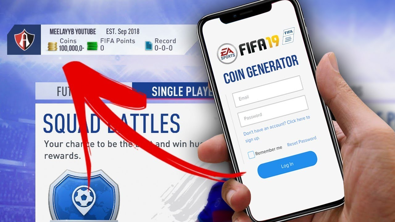 FIFA 19 FREE COIN GENERATOR    [XBOX/PS4]