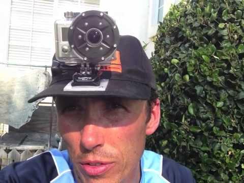 Gopro camera ball cap mount jet ski fishing youtube for Gopro fishing mounts