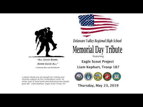 Delaware Valley Regional High School Memorial Day Tribute 2019