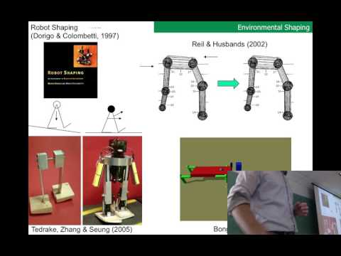 Lecture 24 of Evolutionary Robotics course at UVM (filmed Th