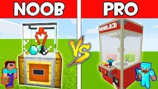 Minecraft - NOOB vs PRO : CLAW MACHINE in Minecraft ! AVM SHORTS Animation