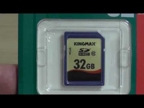 Карта памяти SDHC KINGMAX 32 ГБ, Class 10. Обзр-рекомендация.