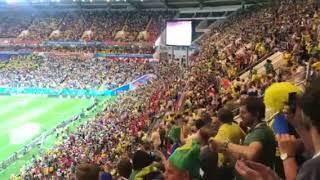 Реакция болельщиков на гол сборной Бразилии | Страна.ua