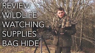 Review: Wildlife Watching Supplies Photography Bag Hide