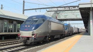 RBBX/Amtrak Circus Train @ Newark Liberty Airport Station (NEC)